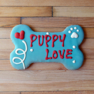 Frosted Puppy Love Dog Treat