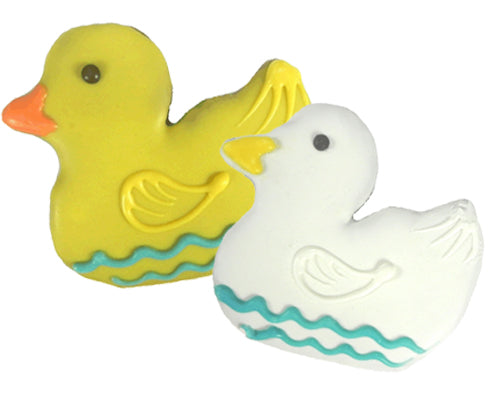 Frosted Rubber Ducky Treat