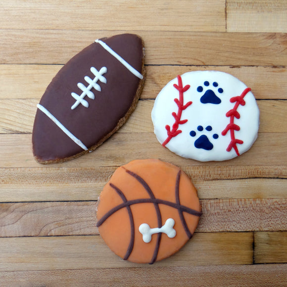 Frosted Sports Dog Treat