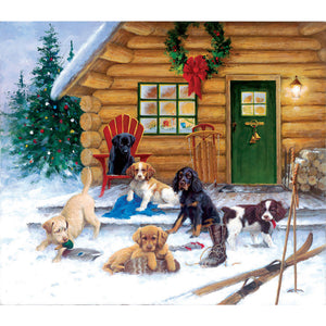 Christmas at the Cabin Puzzle