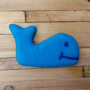 Frosted Whale Dog Treat