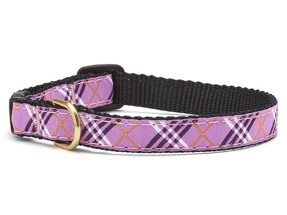 Lavender Lattice Cat Collar