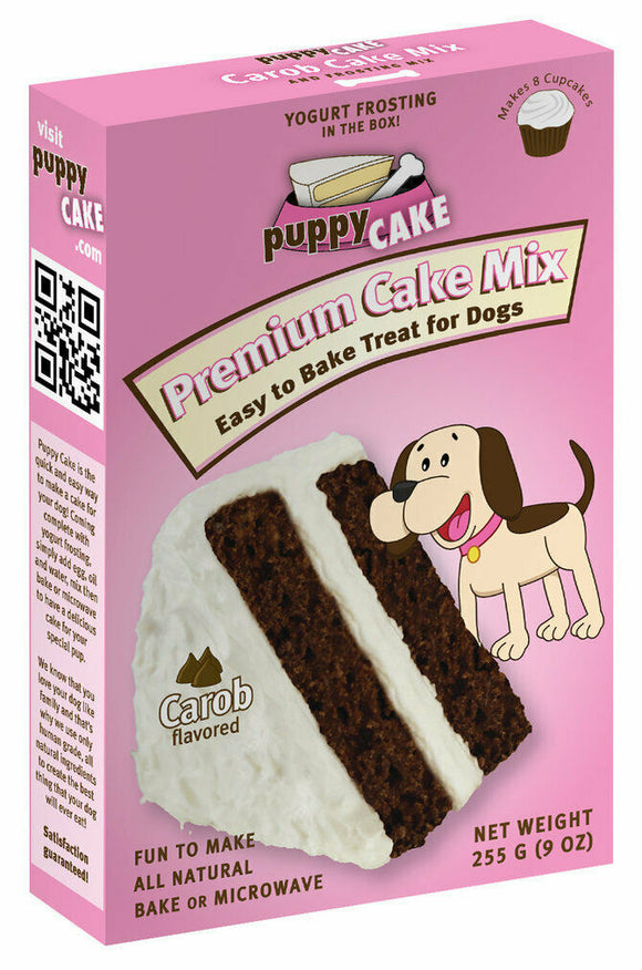 Wheat-free Carob Dog Cake Mix