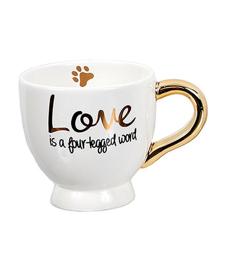 Love is a Four-Legged Word Mug