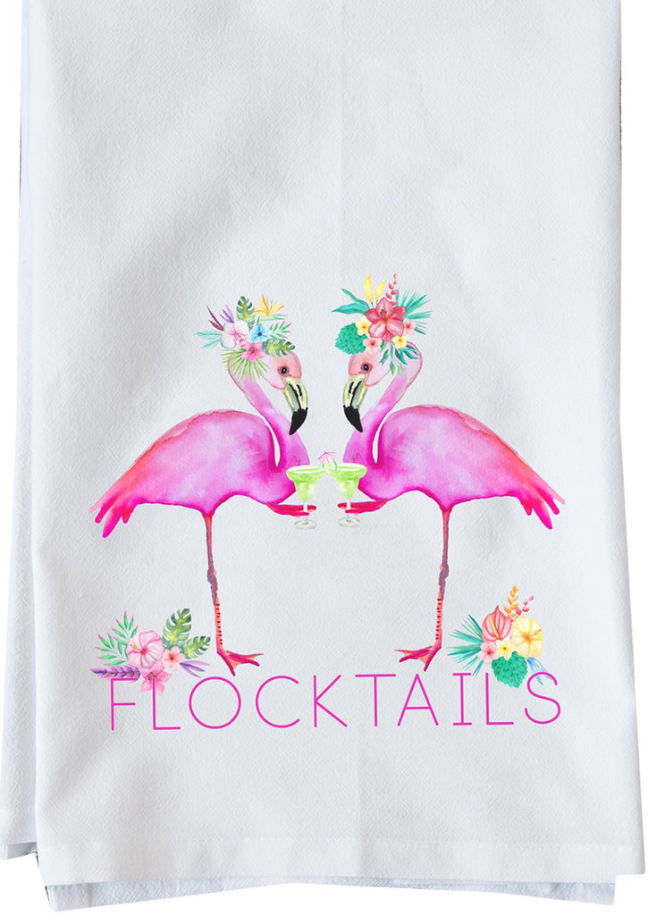 Flocktails Dish Towel