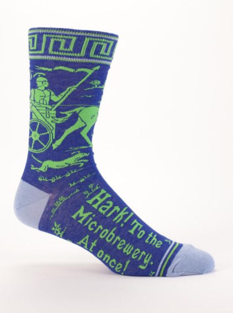 Hark to the Microbrewery - Men's Socks