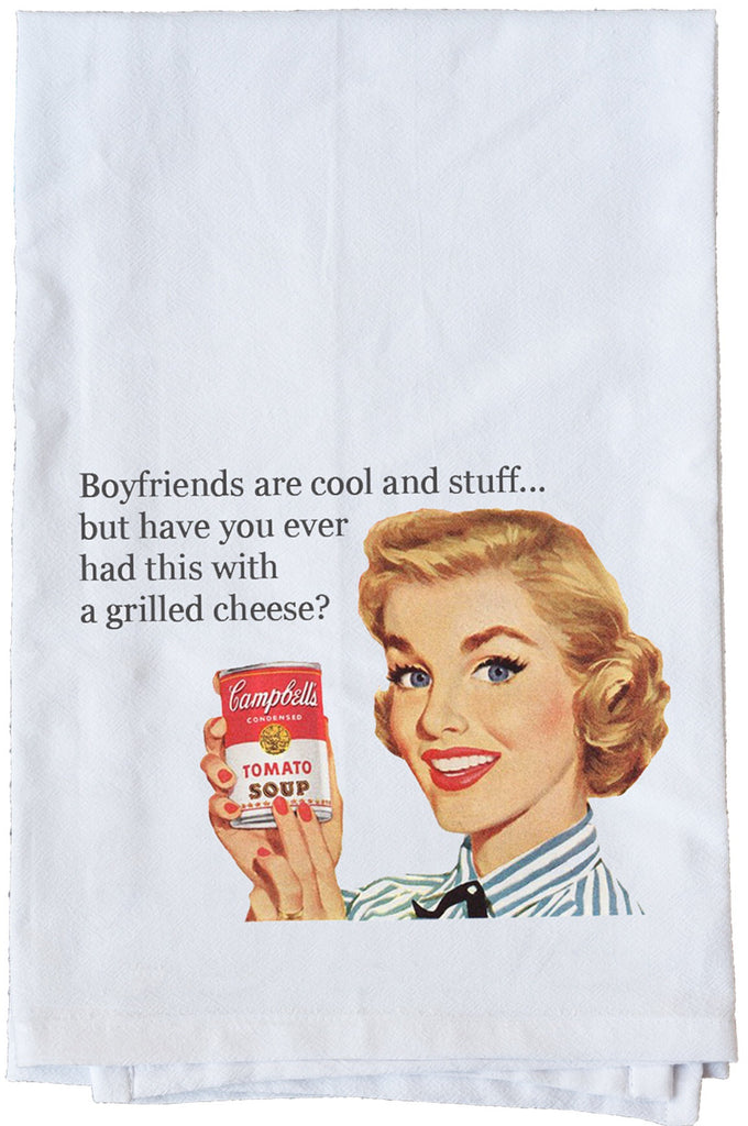 Boyfriends are Cool and Stuff...Dish Towel