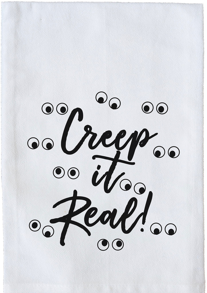 Creep it Real Dish Towel