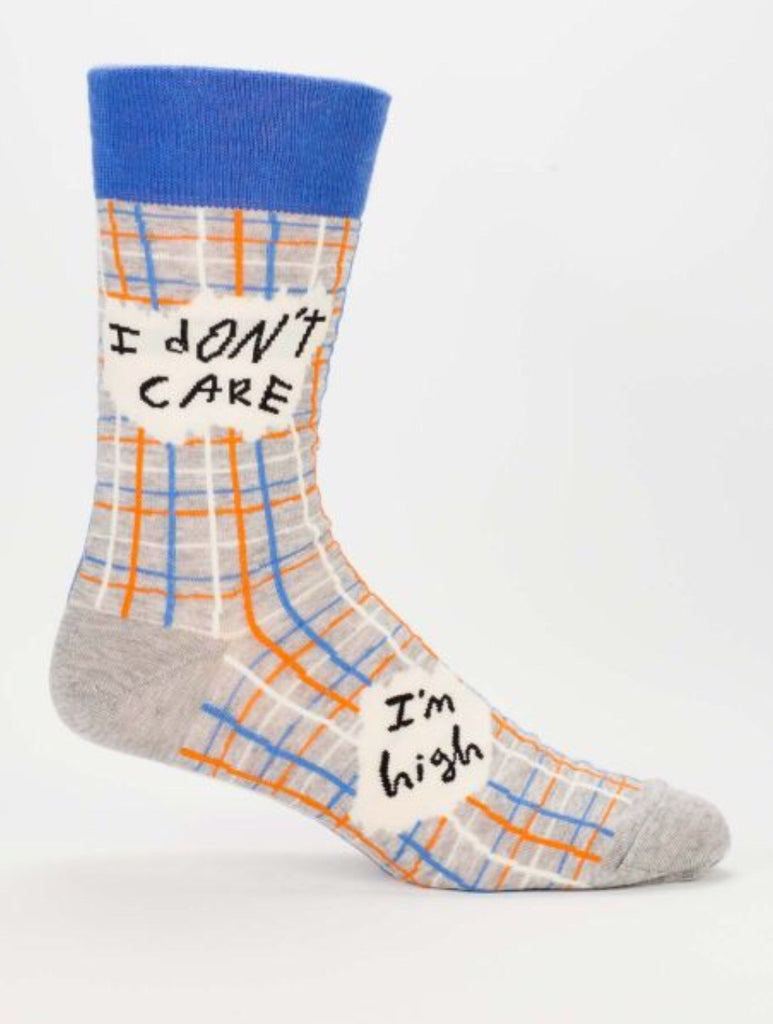 I Don't Care I'm High- Men's Socks