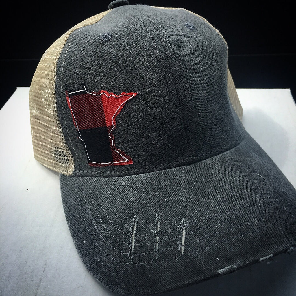 Distressed MN Hat