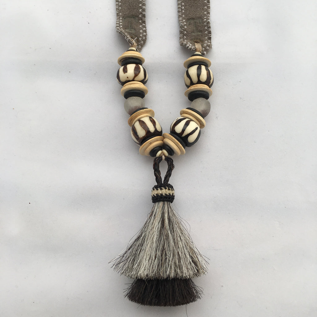 Twine & Twig- Double Trail Tail Necklace