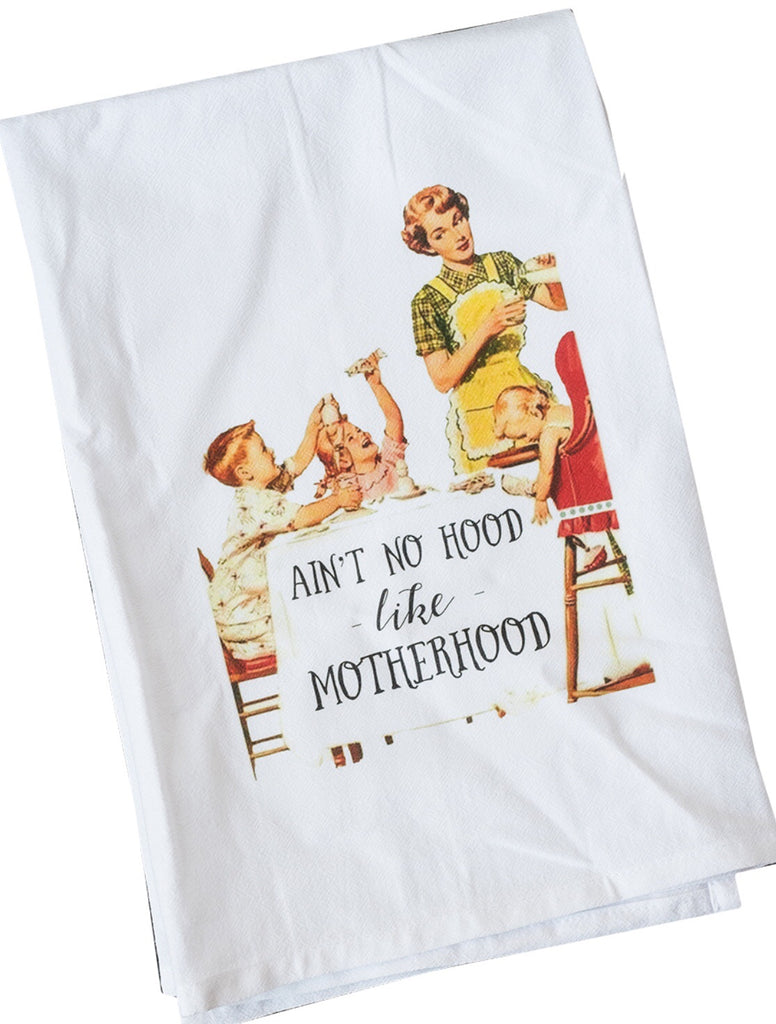 Motherhood Dish Towel