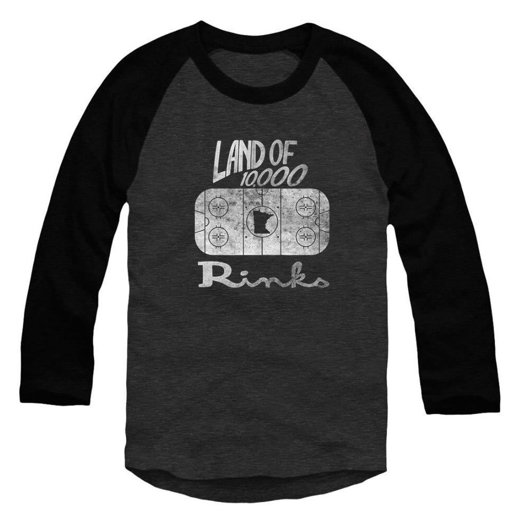 Land of 10,000 Rink Raglan Tee