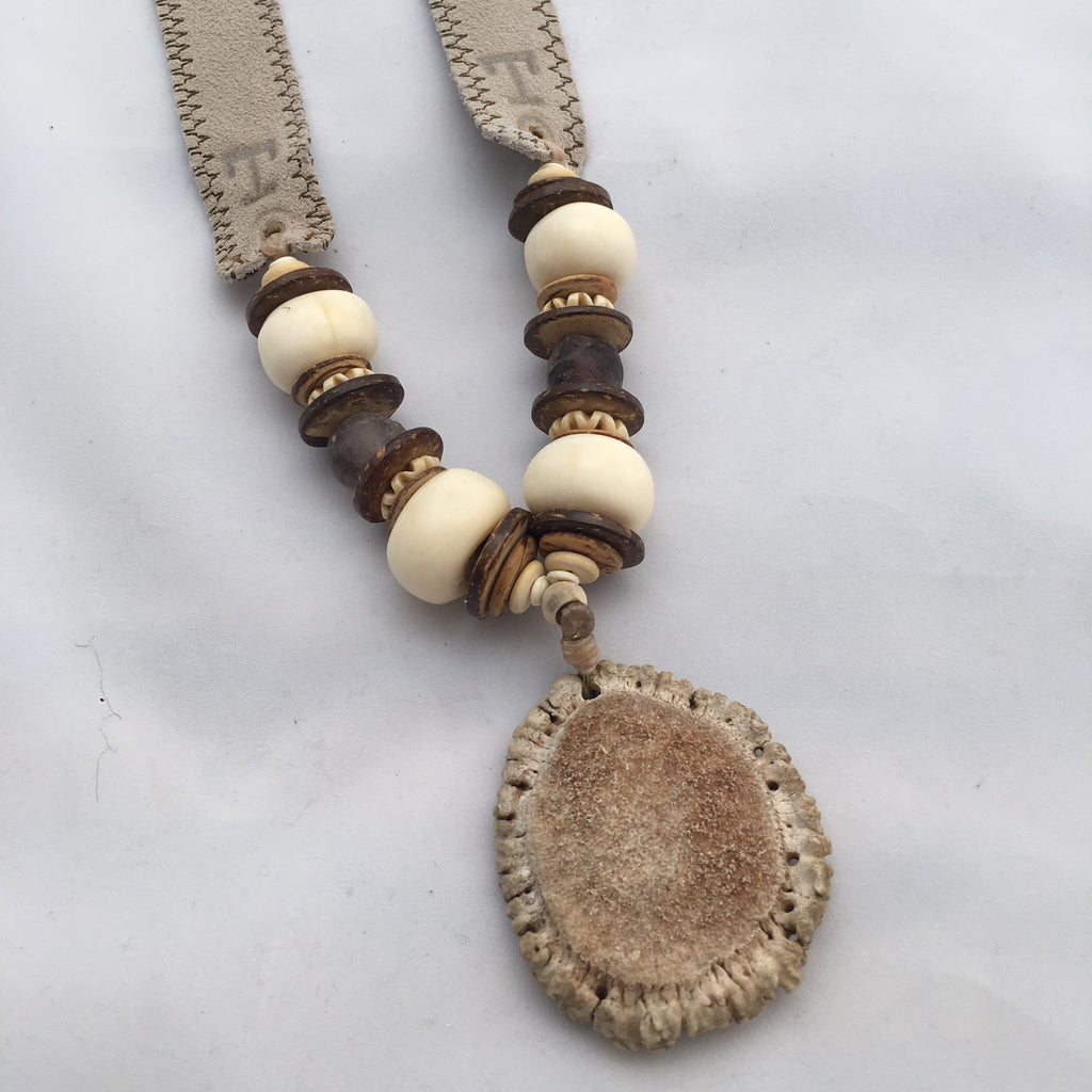 Twine & Twig- Trail Burr Necklace