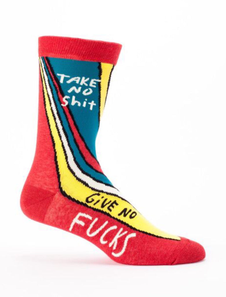 Take No Shit Give No F*cks - Men's Socks