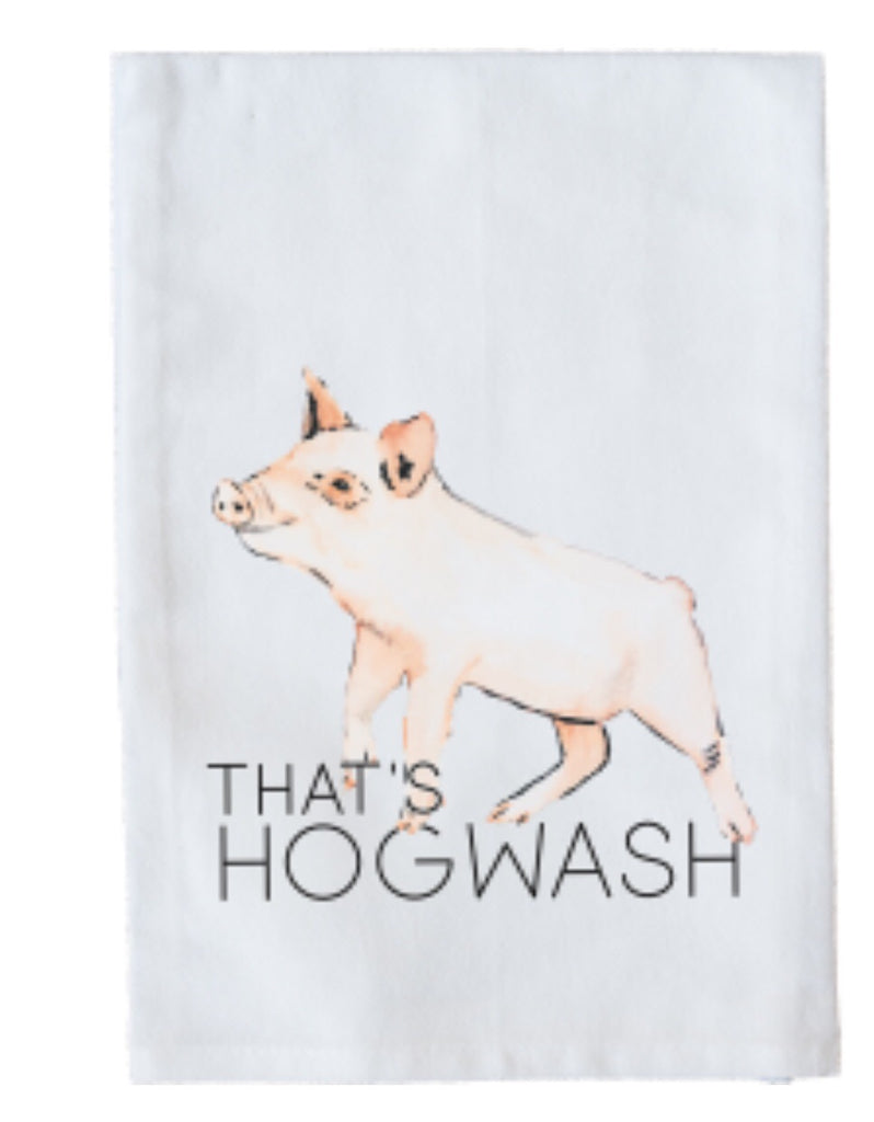 That's Hogwash Dish Towel
