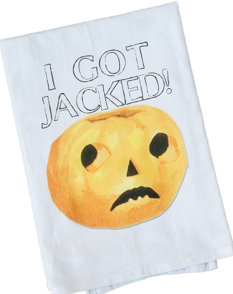 Jacked Dish Towel