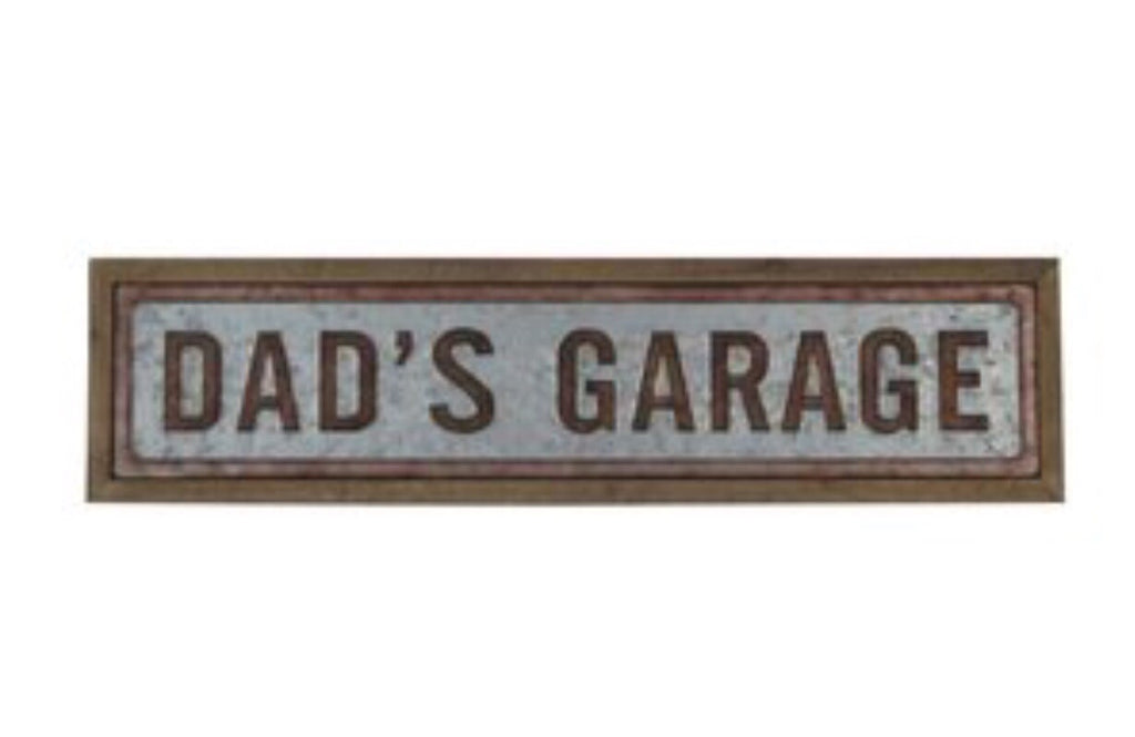 Dad's Garage Wall Decor