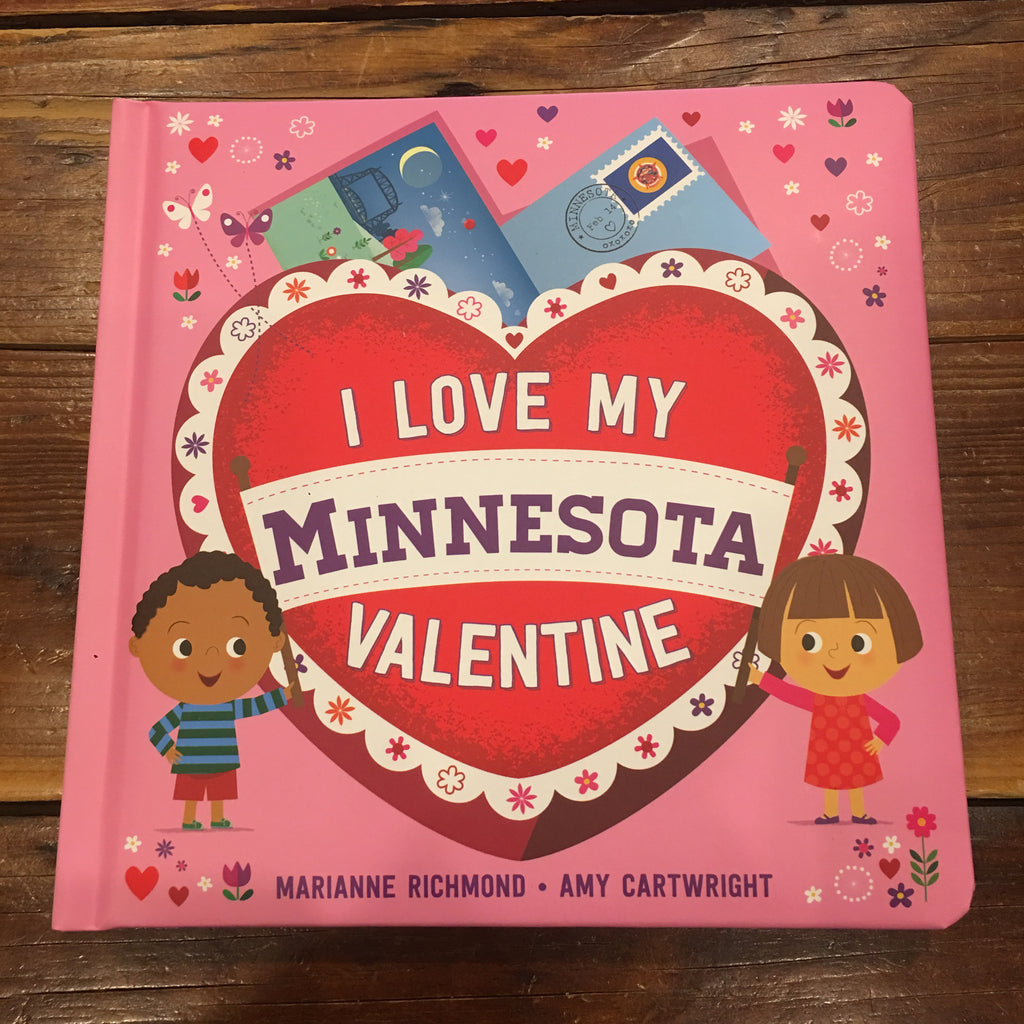 I Love My Minnesota Valentine Book