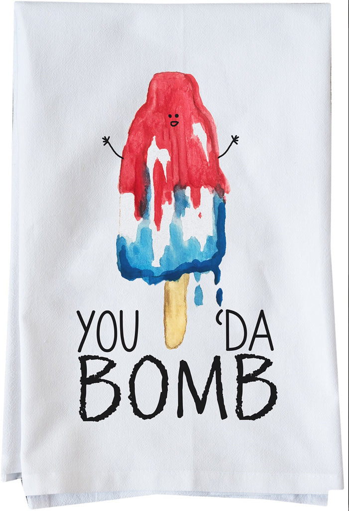 You Da Bomb Dish Towel