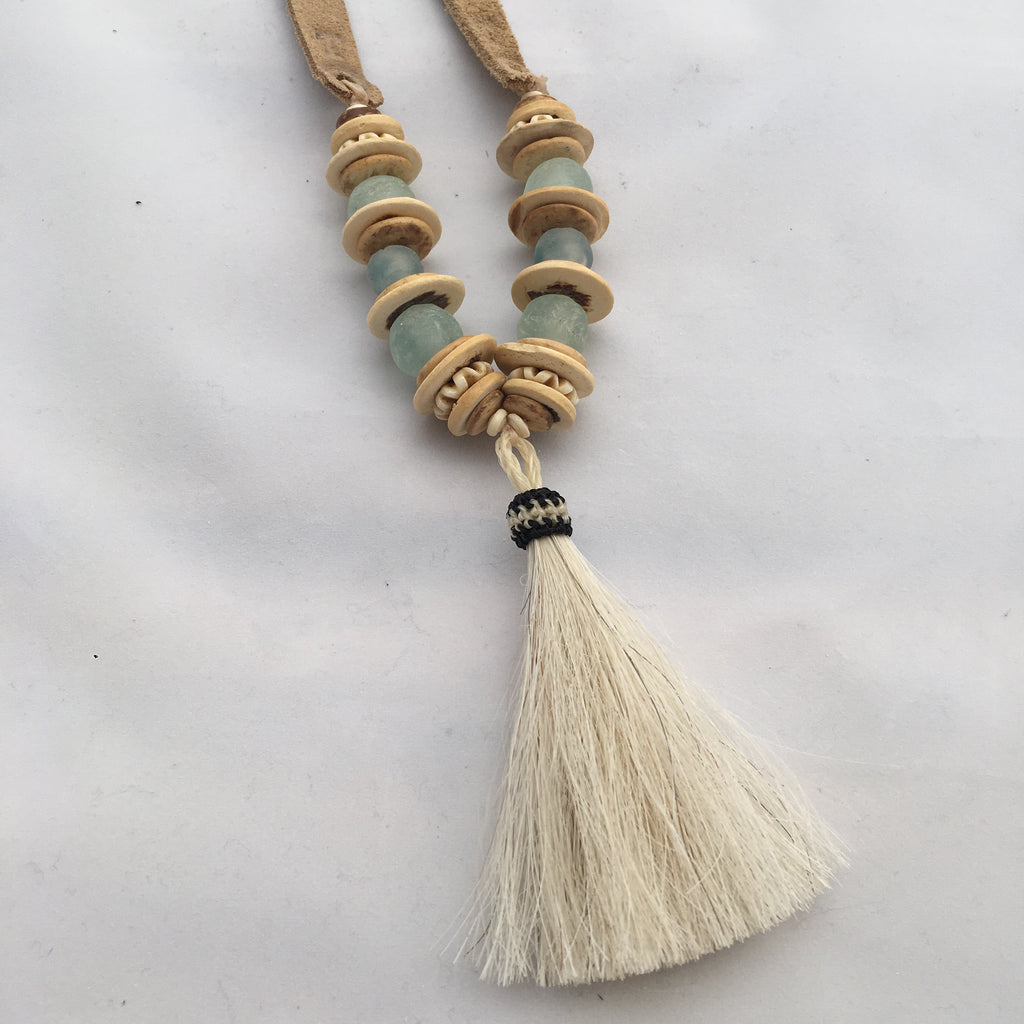 Twine & Twig- Slim Trail Tail Necklace