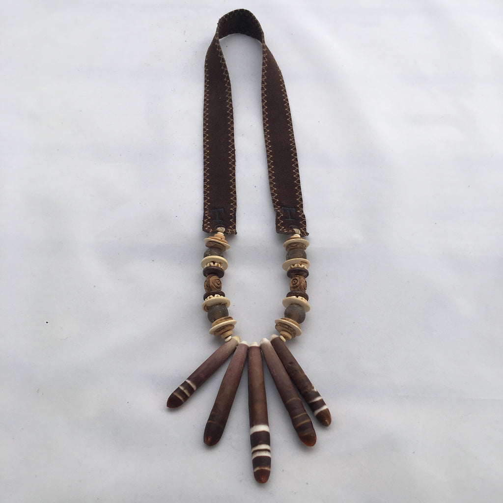 Twine & Twig- Shore Shell Spines Necklace