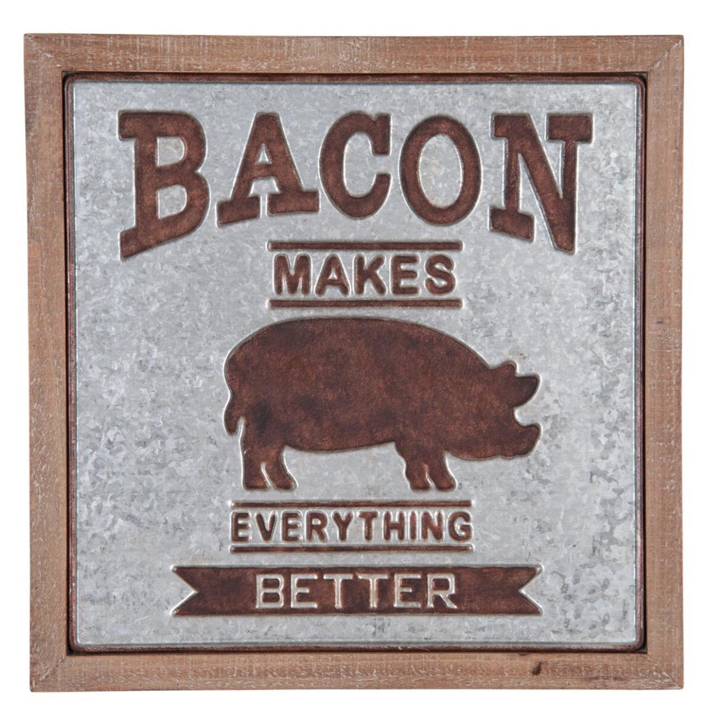 Bacon Makes Everything Better Wall Decor