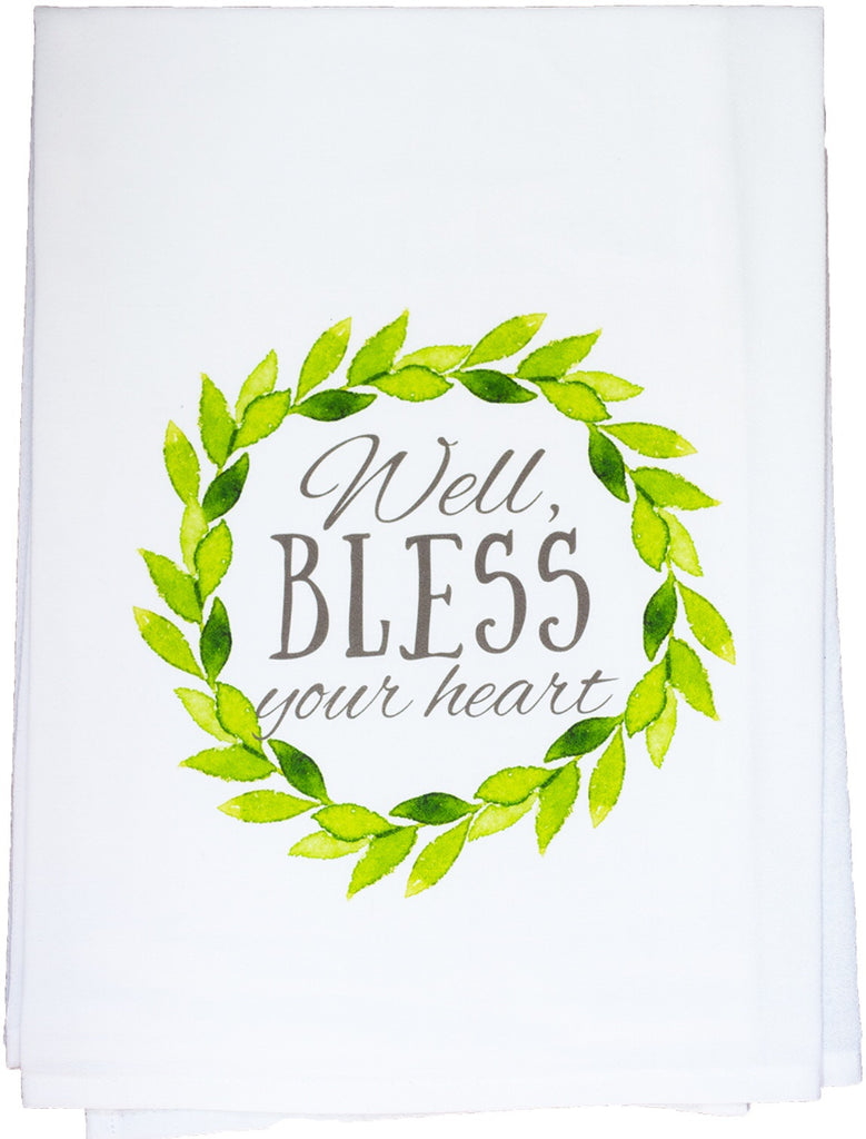 Bless Your Heart Dish Towel