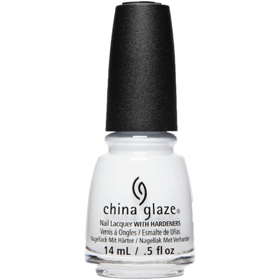 China Glaze Spring Fling Nail Polish Collection 2017 - Blanc Out 14ml (66223)