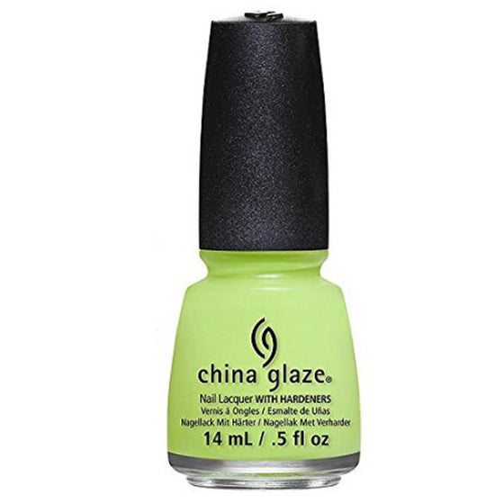 China Glaze Nail Polish - Grass Is Lime Greener 14ml (81766)