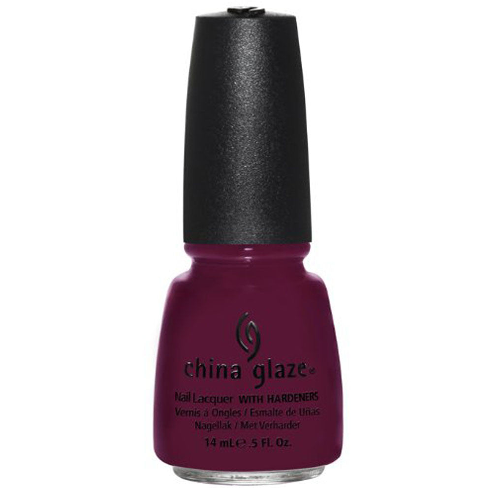 China Glaze Nail Polish - Purr-fect Plum 14ml (80496)