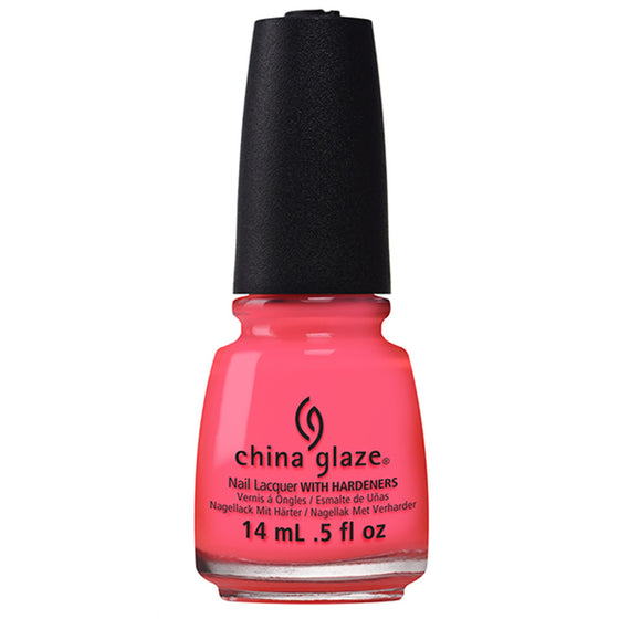 China Glaze Nail Polish - Red-y to Rave 14mL (82603)