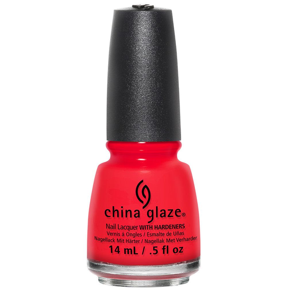 China Glaze Nail Polish - The Heat Is On 14mL (82653)