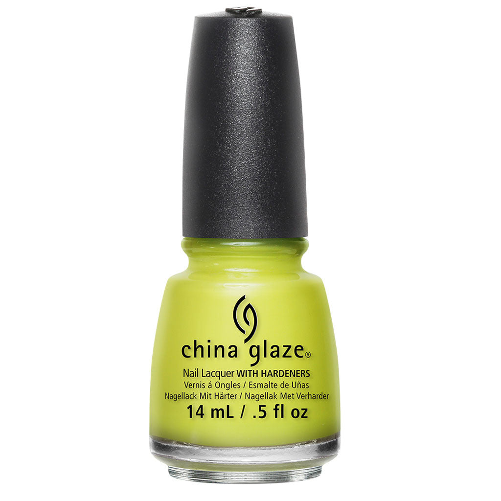 China Glaze Road Trip Nail Polish Collection 2015 - Trip Of A Lime Time 15ml (82379)