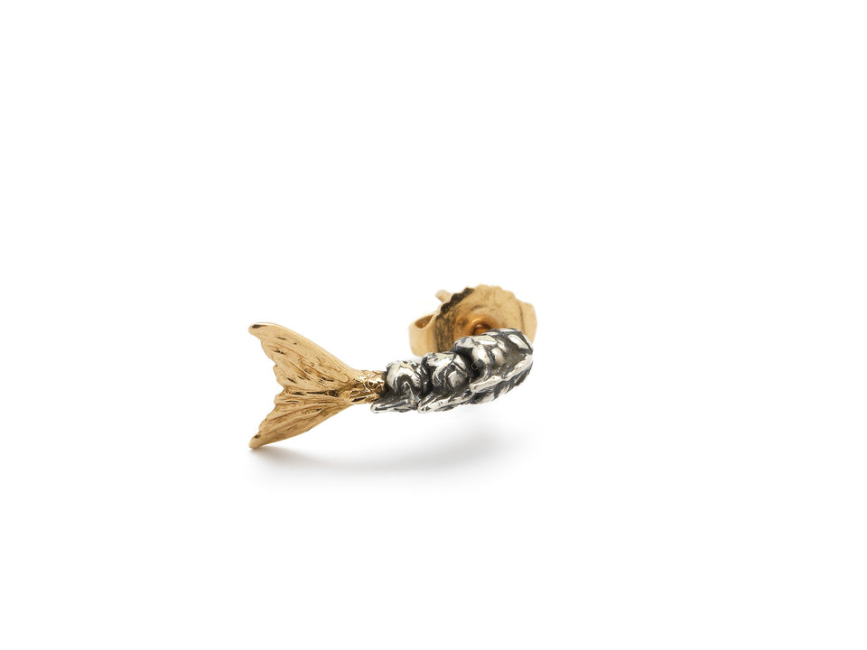 Mini Mermaid Tail Stud