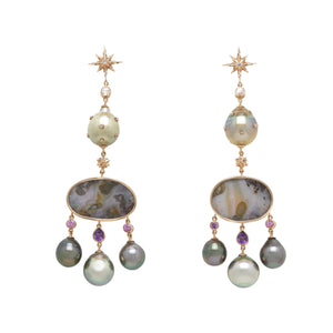 Galaxy One-Off Girandole Earrings