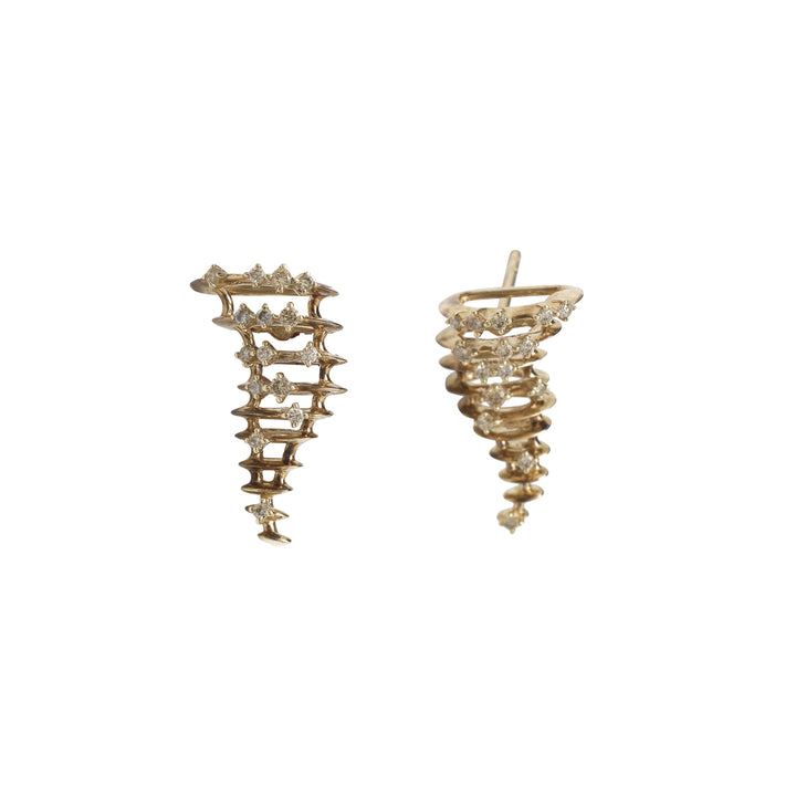 Small Tornado Earrings