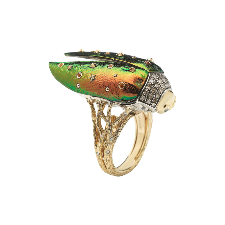 Scarab Fly Ring