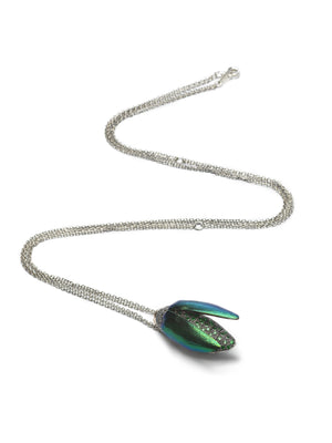Scarab Fly Necklace