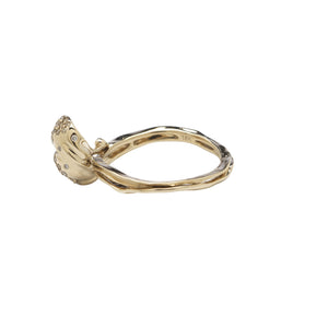 Wave Stackable Ring One