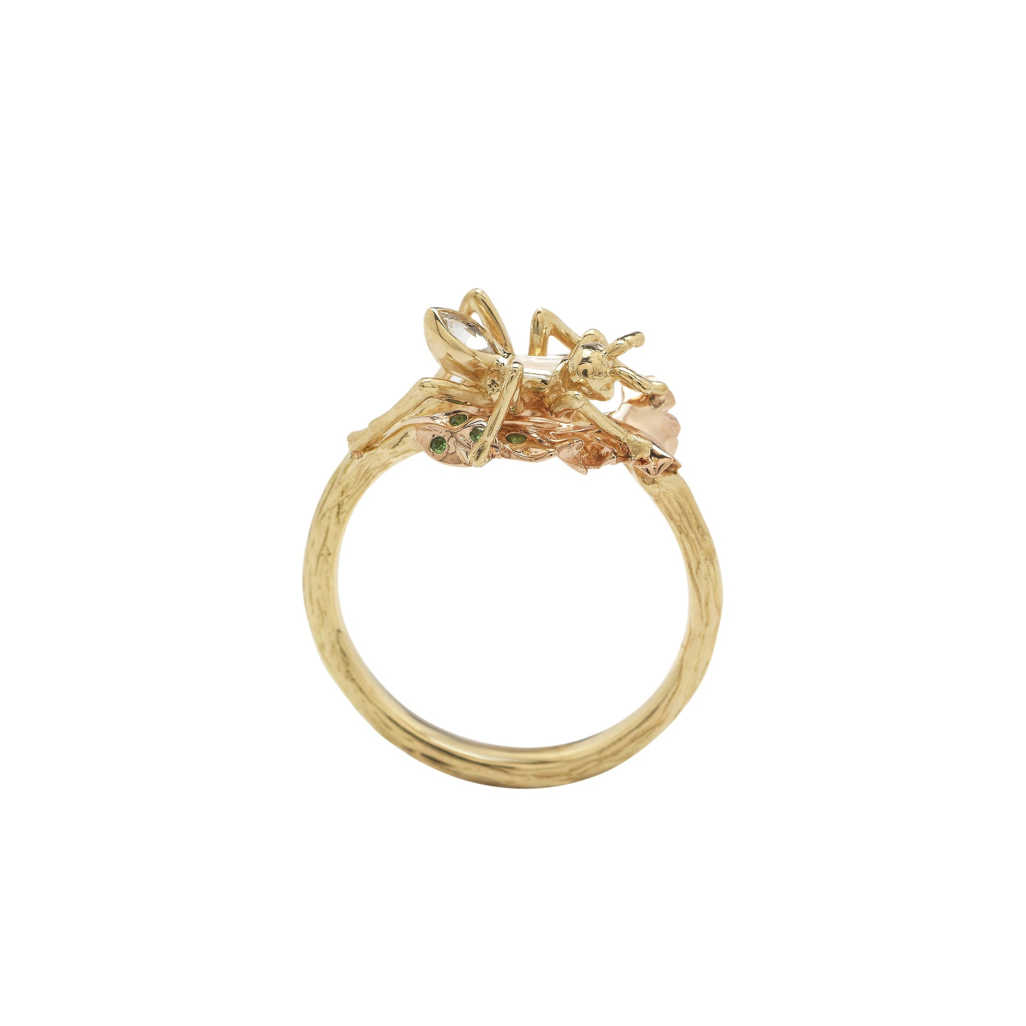 Ant Stackable Ring – Diamond