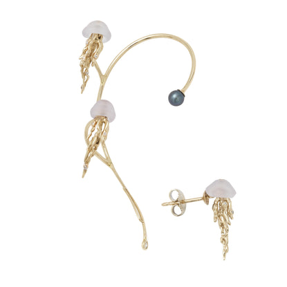 Jellyfish Ear Cuff