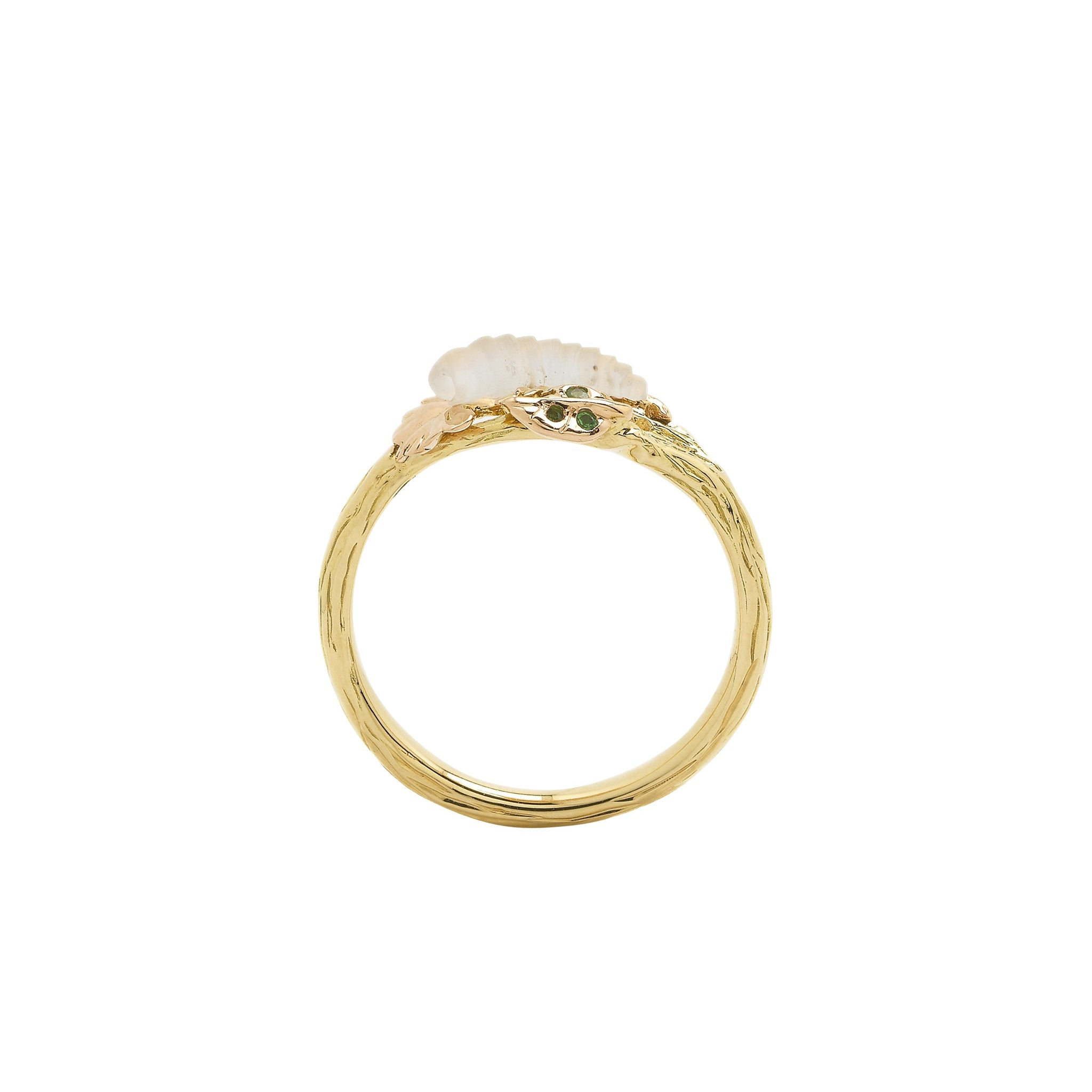 Leaf Stackable Ring