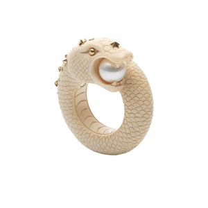 Mammoth Sea Snake Ring