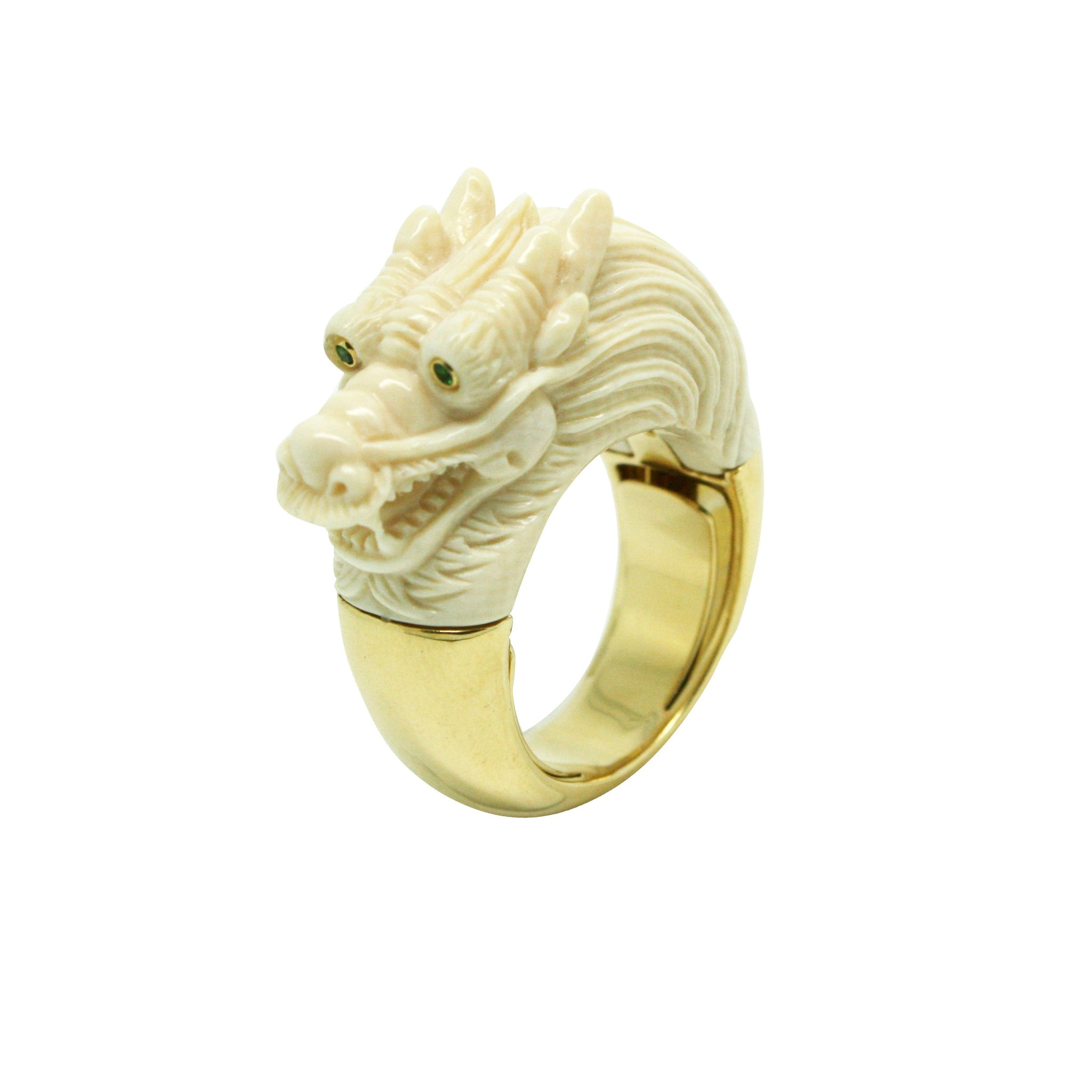 Mammoth Dragon Ring
