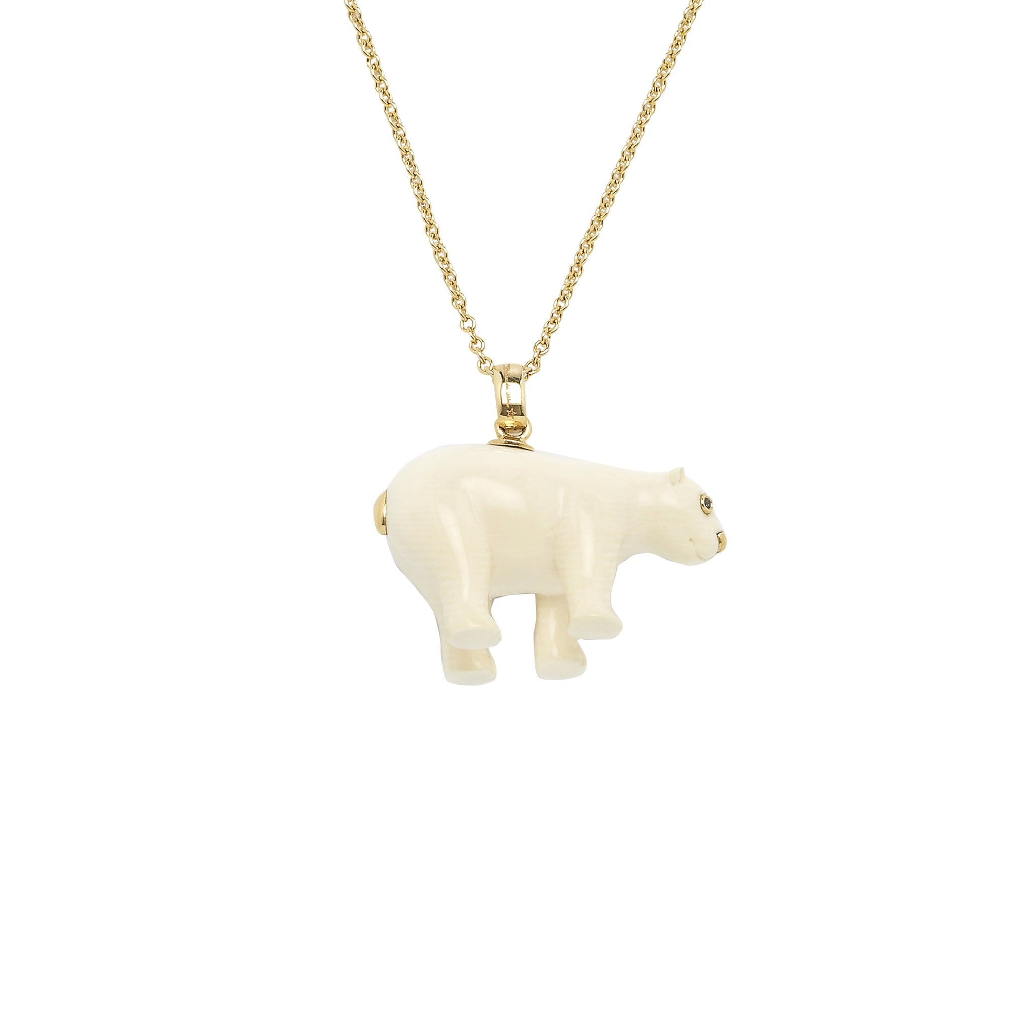 Mammoth Bear Necklace