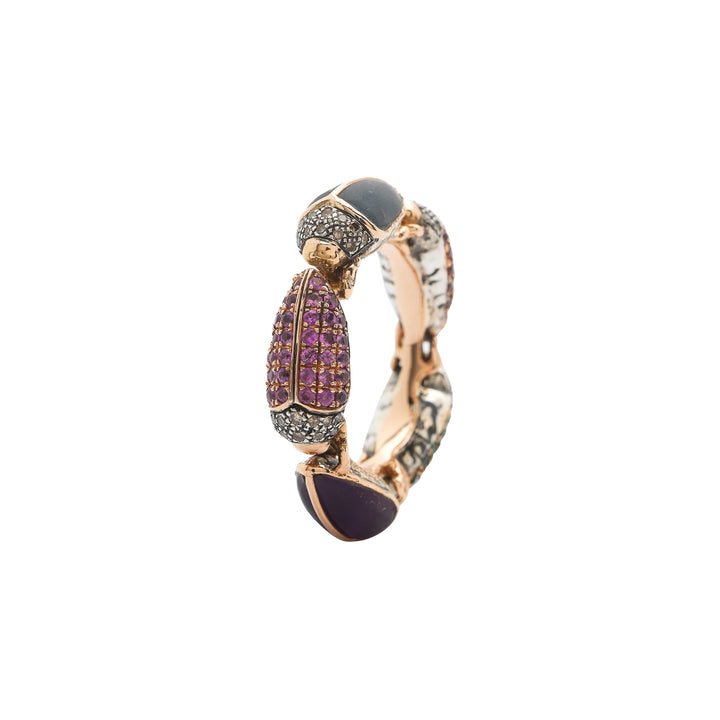Scarab Eternity Ring
