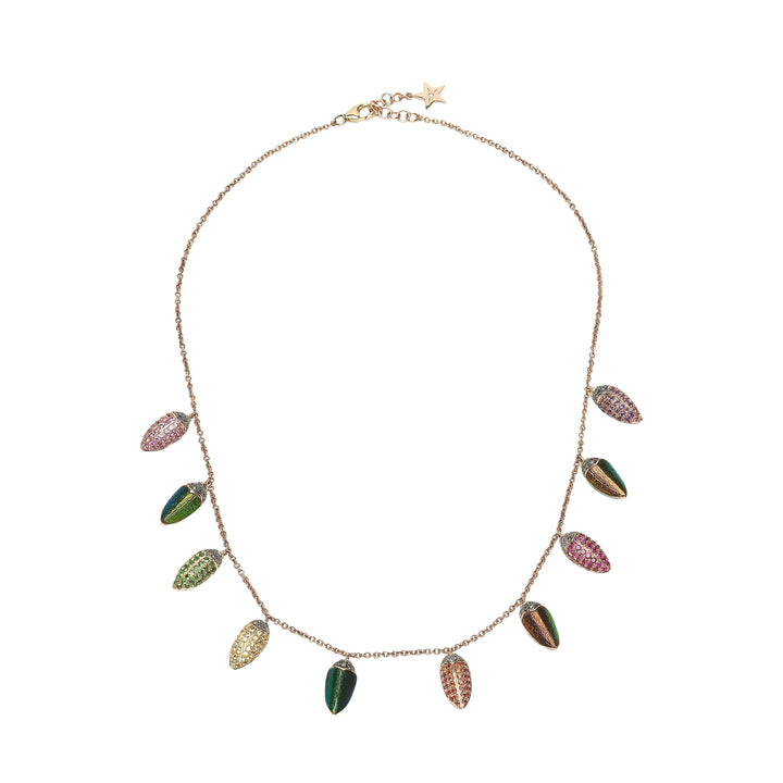 Small Scarab All Round Necklace