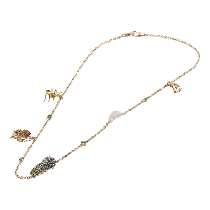 Short Insect Necklace