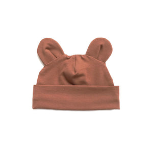 Rust bear hat